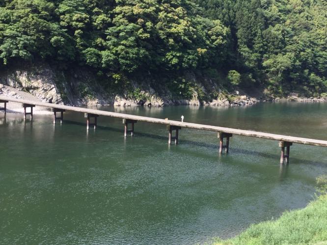 20050510沈下橋柴犬散歩