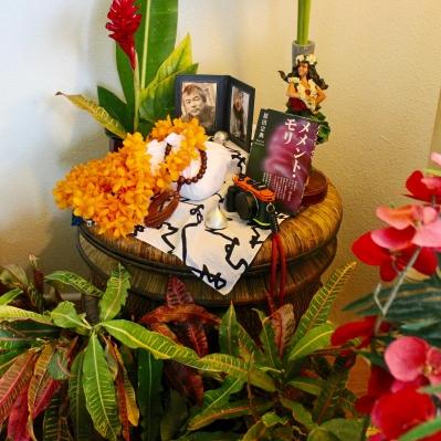ハワイの祭壇