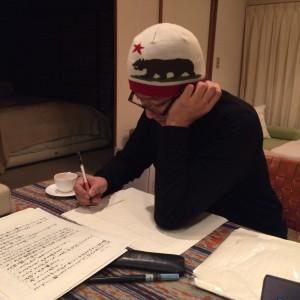 熊の帽子の原田さん